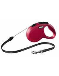 Flexi New Classic Smycz linka S 5m czerwona [FL-2504]