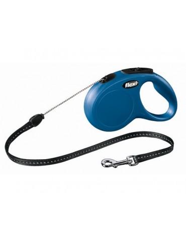 Flexi New Classic Smycz linka S 5m niebieska [FL-2511]