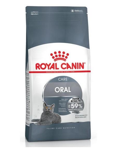 Royal Canin Oral Care karma sucha dla kotów dorosłych, redukująca odkładanie kamienia nazębnego 3,5kg
