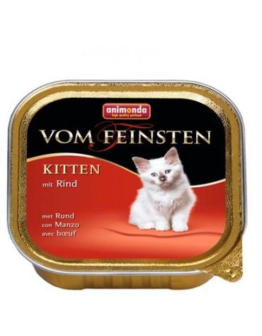 Animonda vom Feinsten Cat Kitten z Wołowiną tacka 100g