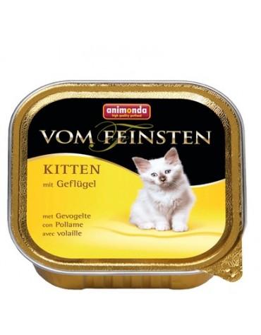 Animonda vom Feinsten Cat Kitten z Drobiem tacka 100g