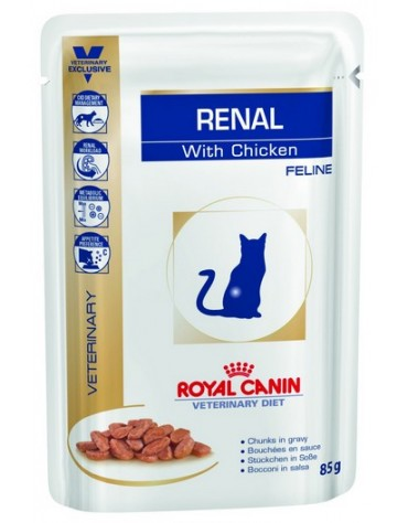 Royal Canin Veterinary Diet Feline Renal Kurczak saszetka 85g
