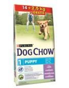 Purina Dog Chow Puppy Jagnięcina 16,5kg (14+2,5kg)