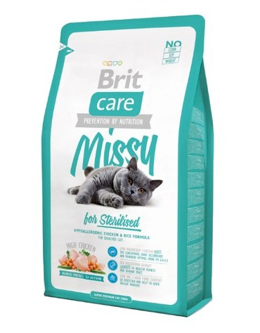Brit Care Cat New Missy For Sterilised Chicken & Rice 2kg