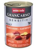 Animonda GranCarno Sensitiv Kurczak + ziemniaki puszka 400g