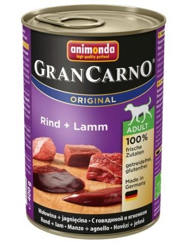 Animonda GranCarno Adult Rind Lamm Wołowina + Jagnięcina puszka 400g