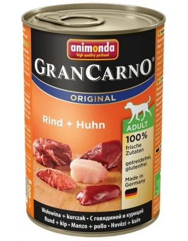 Animonda GranCarno Adult Rind Huhn Wołowina + Kurczak puszka 400g