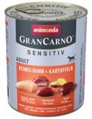 Animonda GranCarno Sensitiv Kurczak + ziemniaki puszka 800g