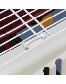 Ferplast Atlas 20 Open - transporter z otwieranym sufitem beżowo-bordowy[73016099]