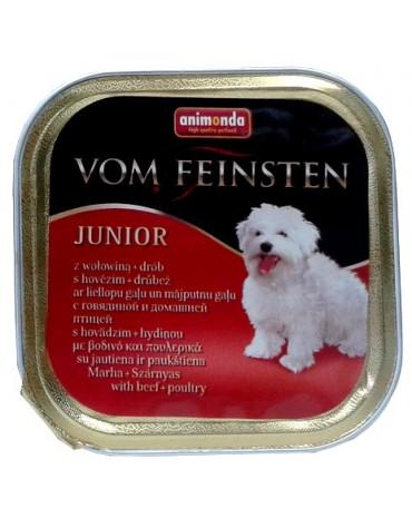 Animonda vom Feinsten Dog Junior Wołowina i Drób 150g