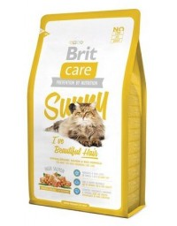 Brit Care Cat New Sunny I've Beautiful Hair Salmon & Rice 2kg
