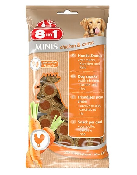 8in1 Minis Chicken & Carrot 100g