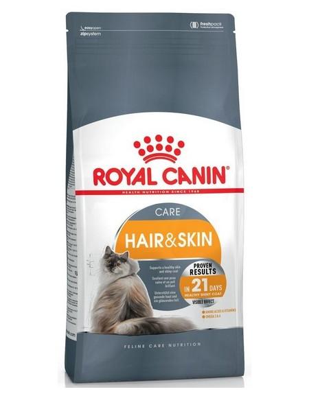 Royal Canin Hair&Skin Care karma sucha dla kotów dorosłych, lśniąca sierść i zdrowa skóra 10kg