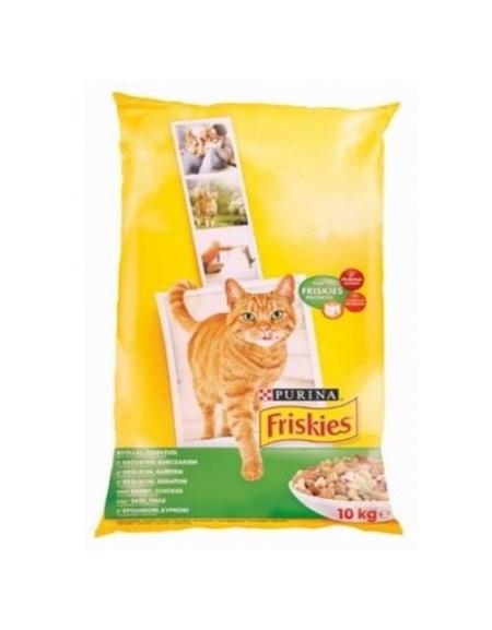 Friskies Kot Królik, Kurczak i Warzywa 10kg