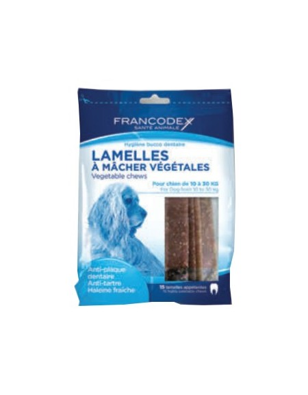 Francodex Paski Dental Medium 15szt 350g [FR172365]