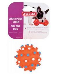 Zolux Zabawka winylowa piłka z wypustkami 7cm [480782]