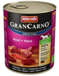 Animonda GranCarno Adult Rind Herz Wołowina + Serca puszka 800g