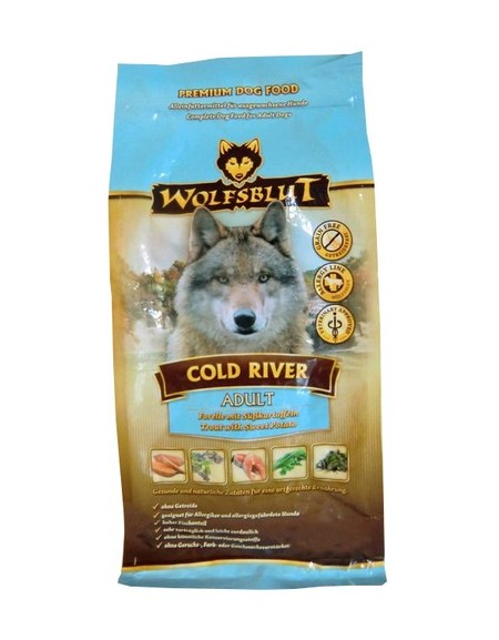 Wolfsblut Dog Cold River - pstrąg i bataty 500g