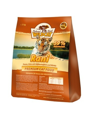 Wildcat Rani - bażant, kaczka i bataty 500g