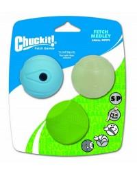 Chuckit! Fetch Medley Small 3pak [205101]