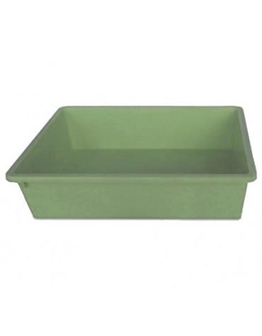 Stefanplast Kuweta 1 - 40x30x10cm oliwkowy [96639]