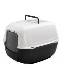 Ferplast Prima New Toaleta dla kota biało-czarna [72053799EL]