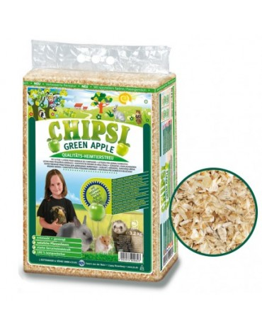 Chipsi Green Apple Ściółka 60L / 3,2kg