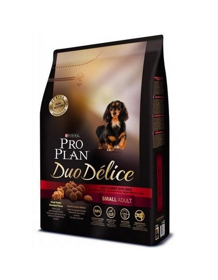 Purina Pro Plan Duo Delice Adult Small Wołowina & Ryż 700g