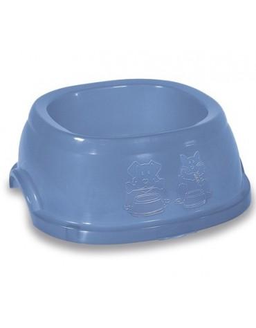 Stefanplast Miska plastikowa Break 3 1L błękit/oliwka [96023]
