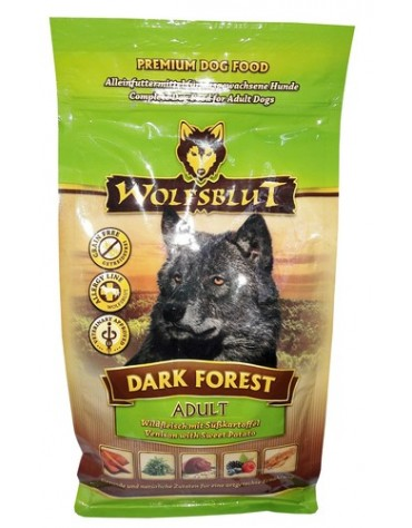 Wolfsblut Dog Dark Forest dziczyzna i bataty 15kg