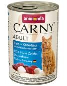 Animonda Carny Adult Wołowina, Dorsz + Korzeń pietruszki puszka 400g