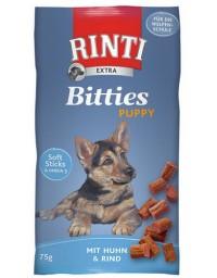 Rinti Extra Bitties Puppy Huhn & Rind - kurczak i wołowina 75g