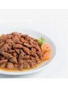 Animonda Rafiné Adult Łosoś + Krewetki w sosie ziołowym saszetka 100g