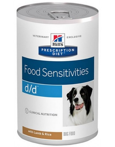 Hill's Prescription Diet d/d Canine Jagnięcina puszka 370g