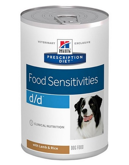Hill's Prescription Diet d/d Canine Jagnięcina puszka 370g