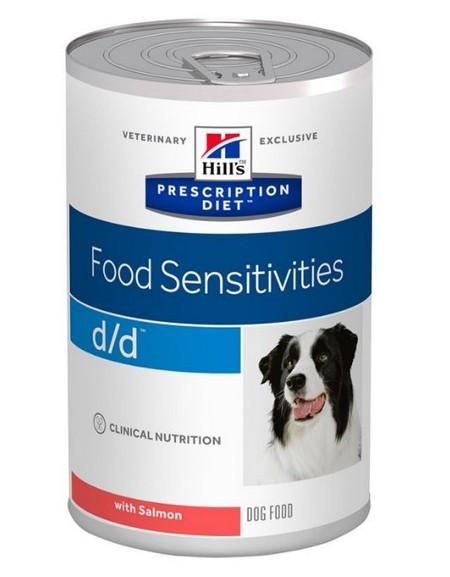 Hill's Prescription Diet d/d Canine Łosoś puszka 370g
