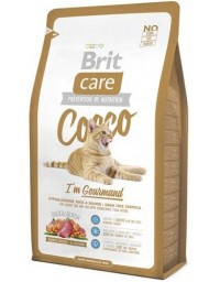 Brit Care Cat New Cocco I'm Gourmand Duck & Salmon 2kg
