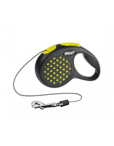 Flexi Smycz Design linka XS 3m żółty