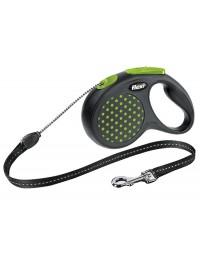 Flexi Smycz Design linka S 5m zielony
