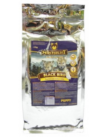 Wolfsblut Dog Black Bird Puppy - indyk i bataty 500g
