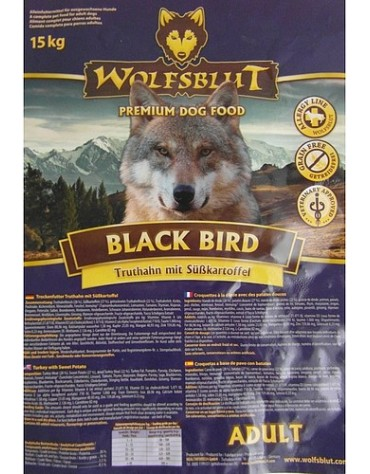 Wolfsblut Dog Black Bird Adult - indyk i bataty 500g