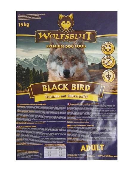 Wolfsblut Dog Black Bird Adult - indyk i bataty 500g