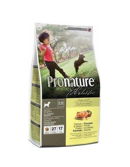 Pronature Holistic Dog Growth Kurczak i słodkie ziemniaki 340g