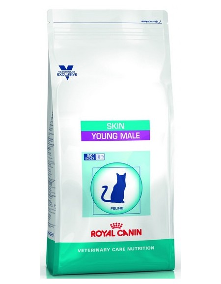 Royal Canin Veterinary Care Nutrition Skin Young Male 400g