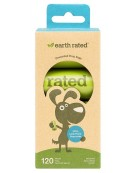 Woreczki Earth Rated ECO 8 x 15szt woreczków bezzapachowych - do zbierania odchodów