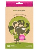 Reklamówki Earth Rated lawendowe 120szt