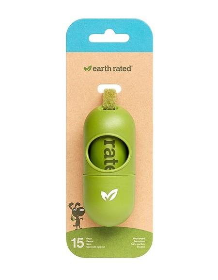Etui na woreczki Earth Rated ECO + 15 woreczków bezzapachowych