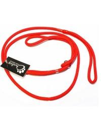 CHABA Smycz ringówka - 8mm czerwona