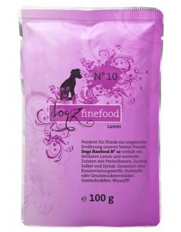 Dogz Finefood N.10 Jagnięcina saszetka 100g