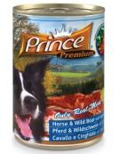 Prince Premium Dog Koń, dzik puszka 400g